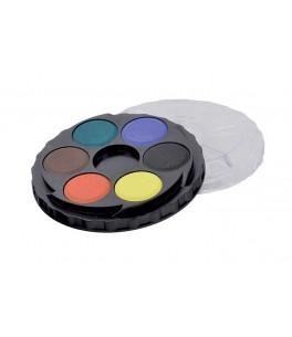Aquarelverf 6 kleuren