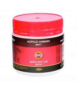 Acryl vernis - mat