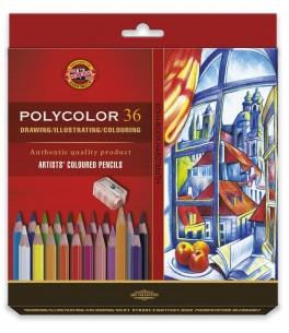 POLYCOLOR Artist's set 36