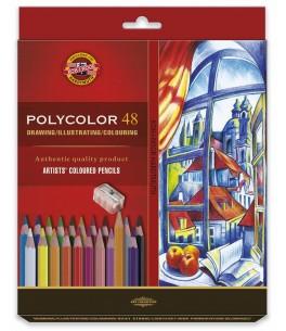 """POLYCOLOR """"Artist's set 48"""