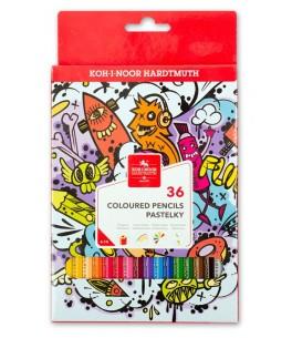 Kleurpotloden teenage, 36 kleuren