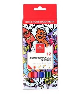 Kleurpotloden teenage, 12 kleuren