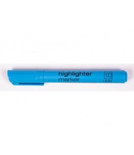 Highlighter blue, chisel 2206