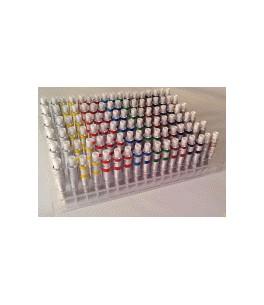 Afficher de verre d'acrylique pour tubes