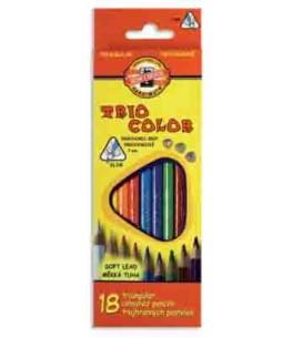 Crayon de couleur TRIOCOLOR 3133,