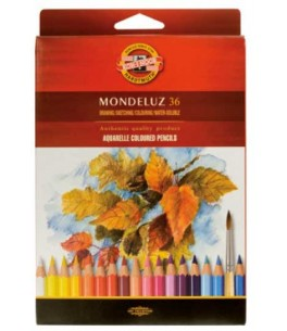 3719 Crayon aquarellable POISSONS