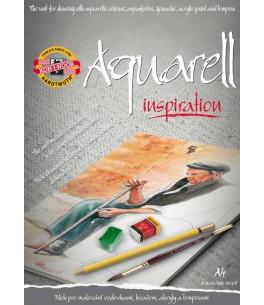 Aquarel blok A4
