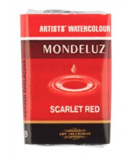 Aquarelverf-Scarlet Red